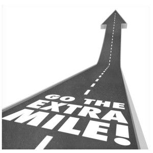 Are You Going the Extra Mile
